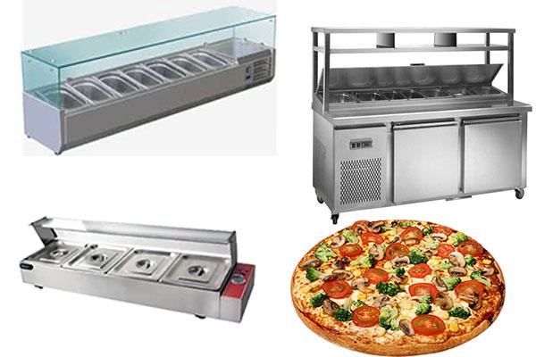 ثلاجة طاولة تحضير البيتزا